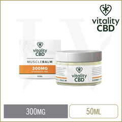 Vitality CBD 300mg muscle balm 50ml