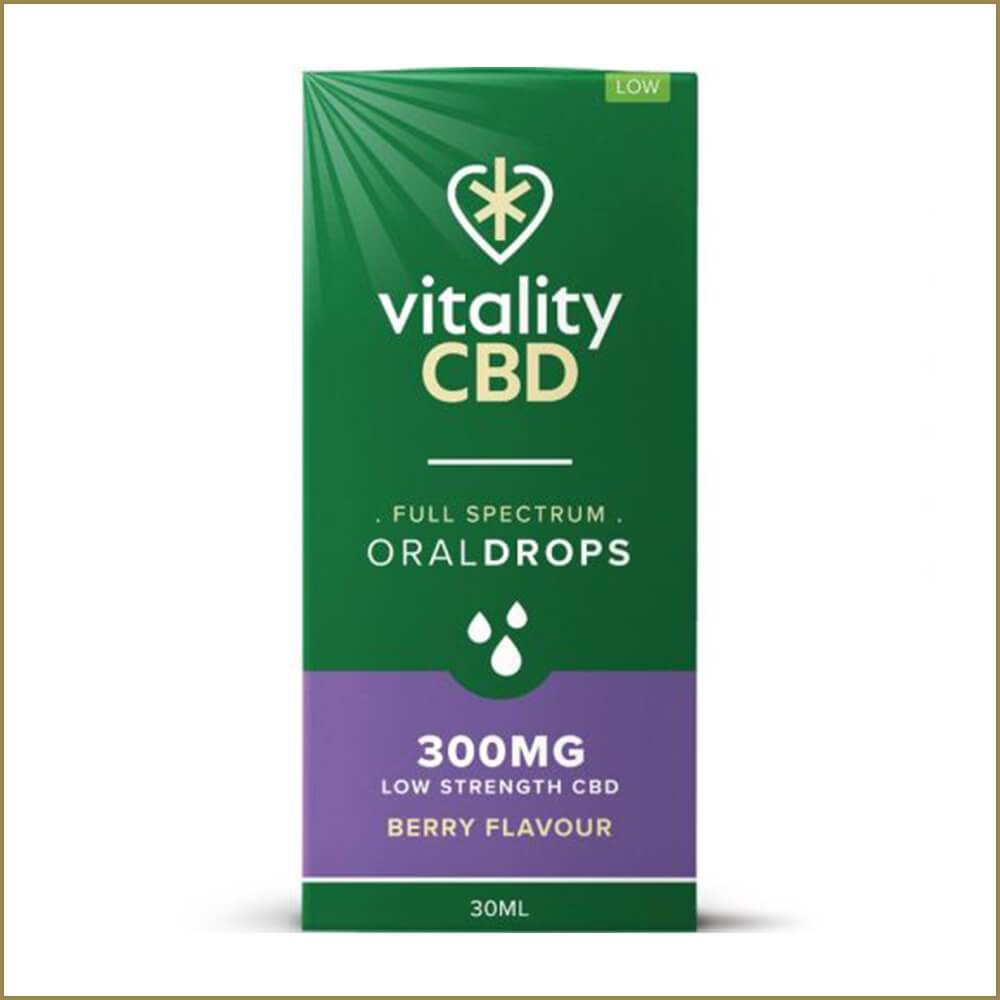 Vitality Berry Full Spectrum Oral Drops 30ml