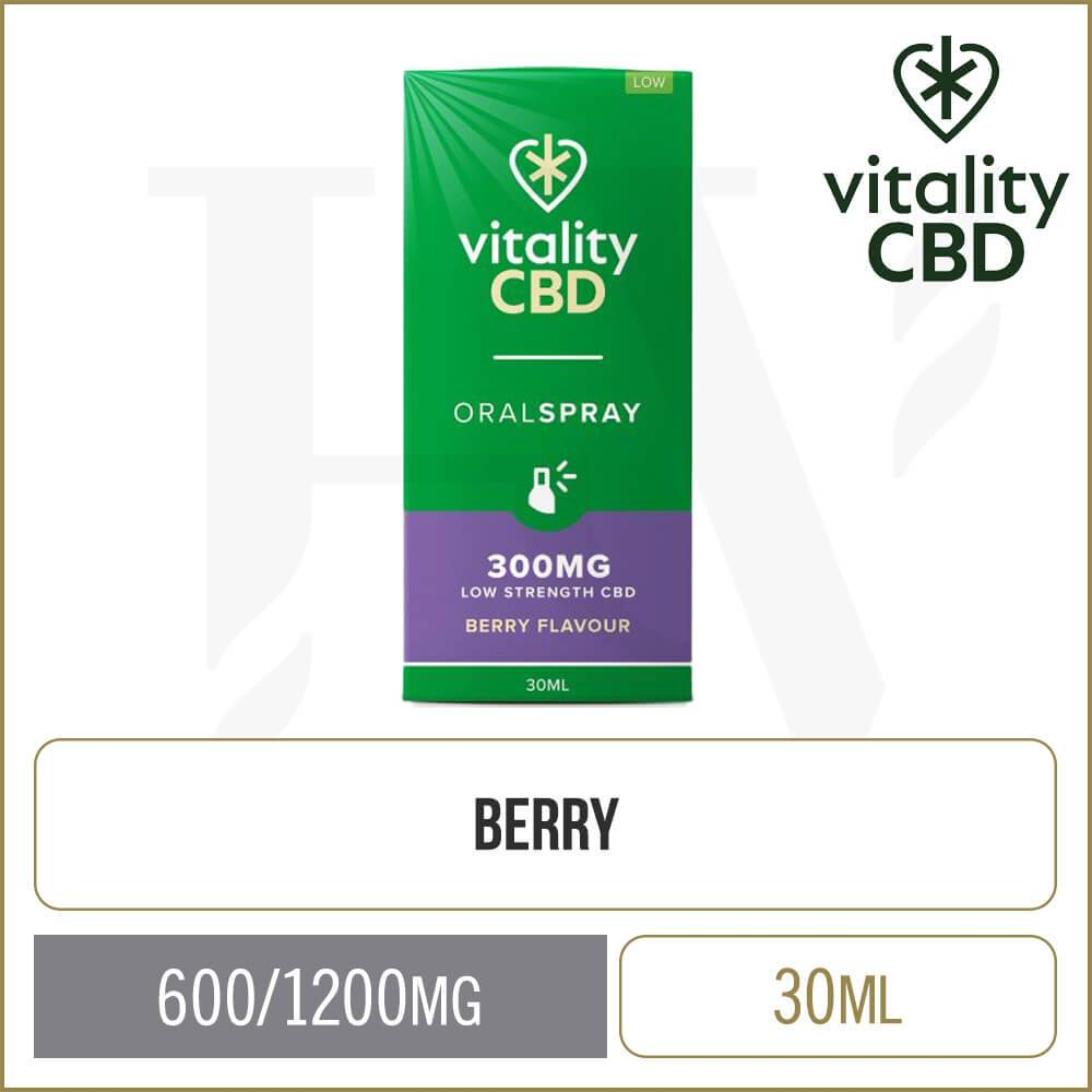 Vitality Berry Full Spectrum Oral Spray 30ml