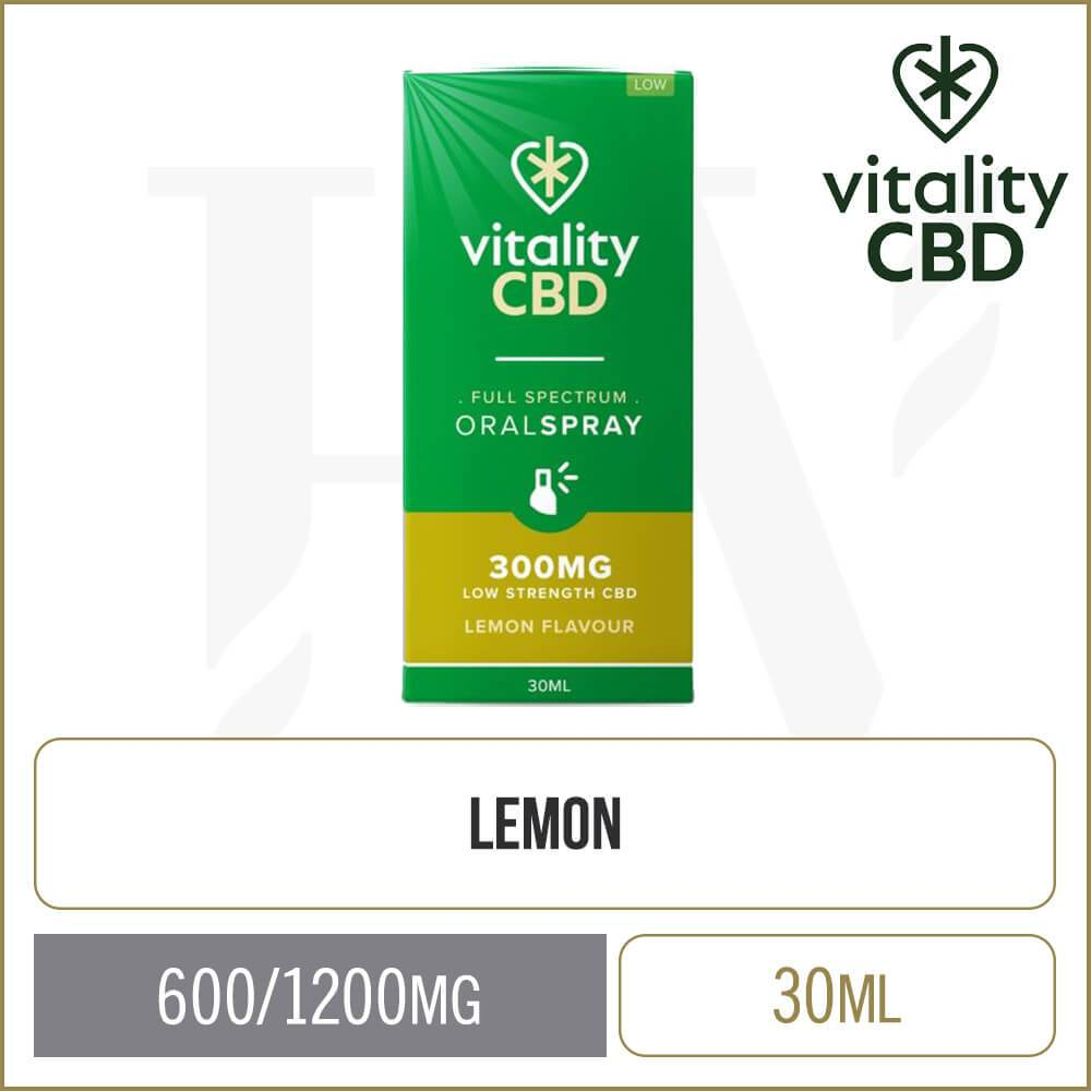 Vitality Lemon Full Spectrum Oral Spray 30ml