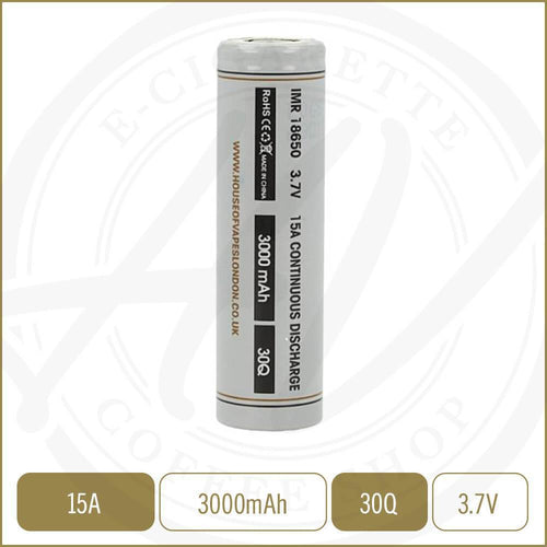 Batteries - HOV Battery - 30Q - 3000mAh