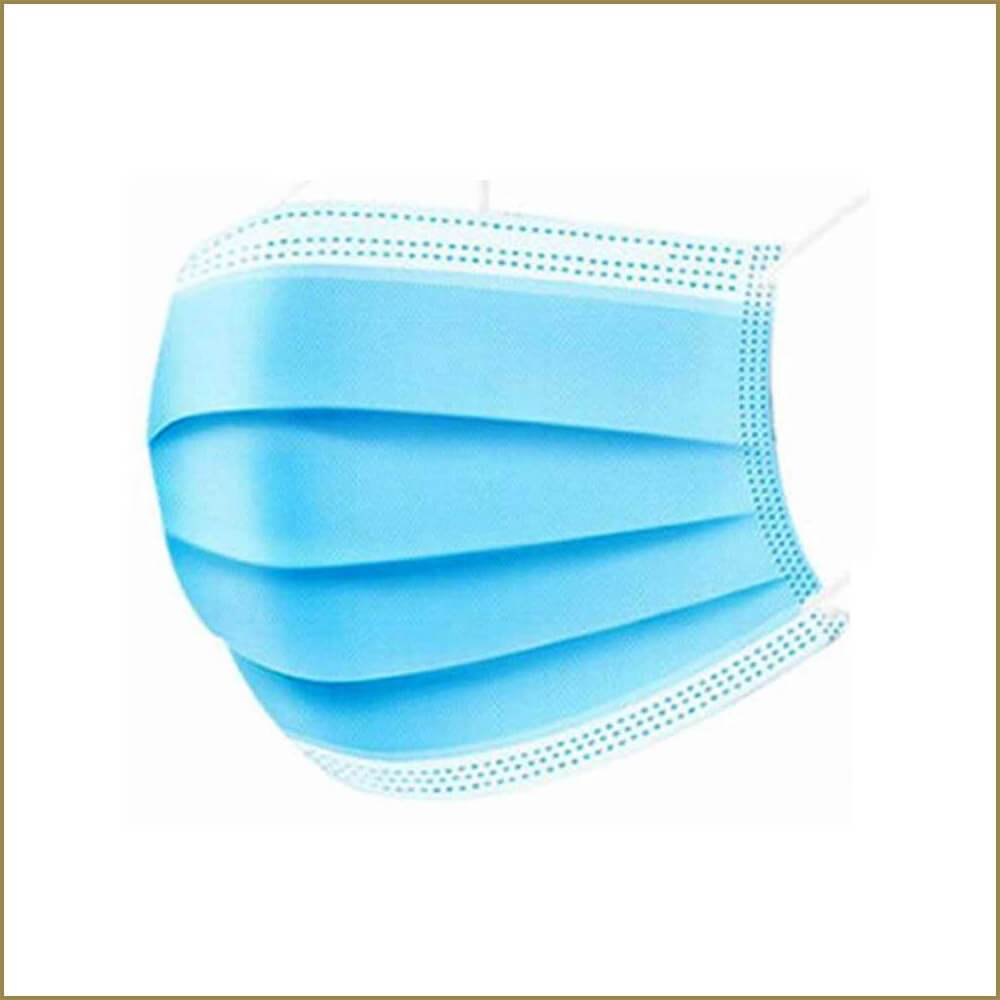 3-ply disposable face masks (pack of 50)