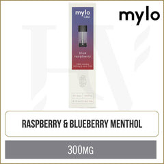 mylo CBD Blue Raspberry Pods 2 Pack