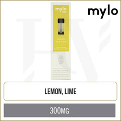 mylo CBD Lemon Lime Pods 2 Pack