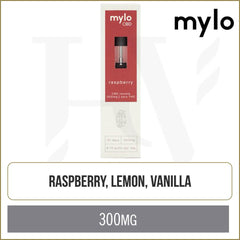 mylo CBD Raspberry Pods 2 Pack
