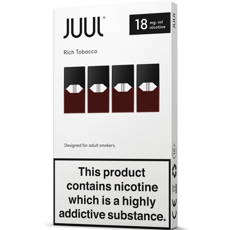 JUULpods Rich Tobacco Pods 4 Pack