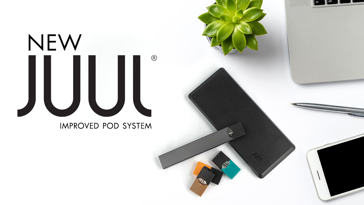 New Juul Improved Pod System