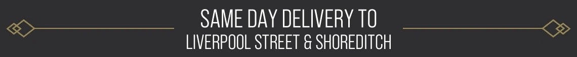 Same Day Delivery Available To Liverpool Street & Shoreditch London From £10.99