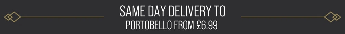 Same Day Delivery Available To Portobello From £6.99