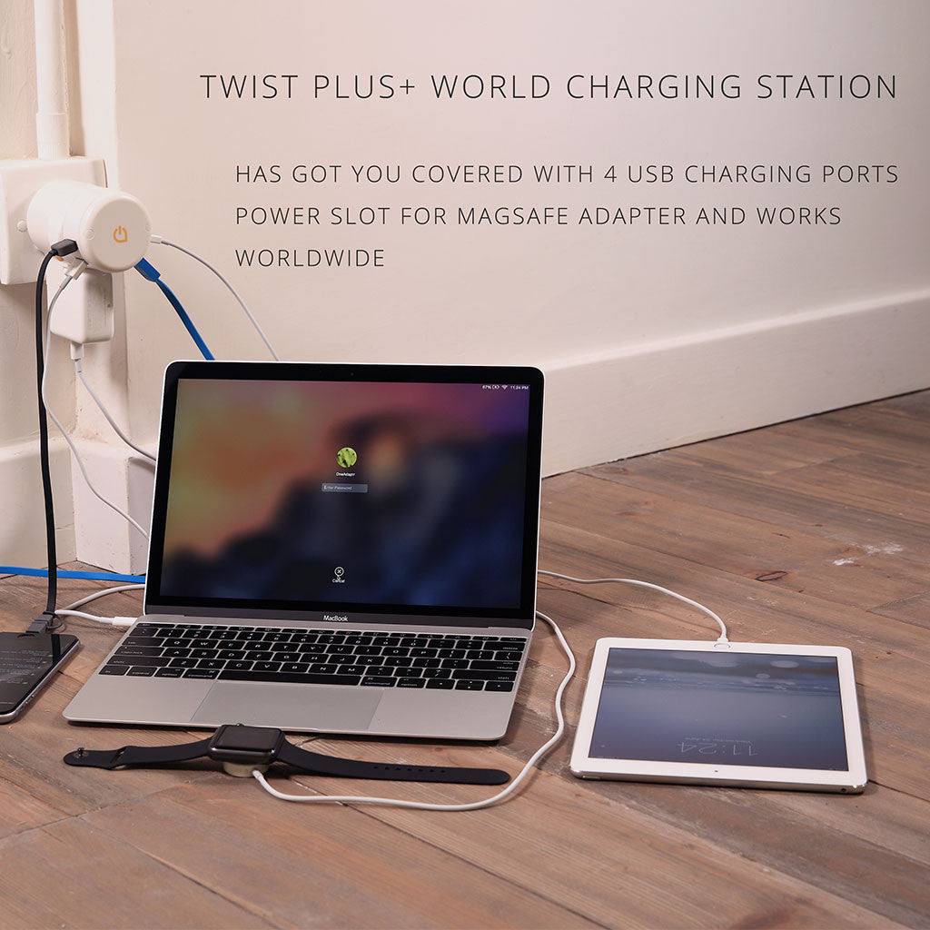 TWIST+ World Charging Station