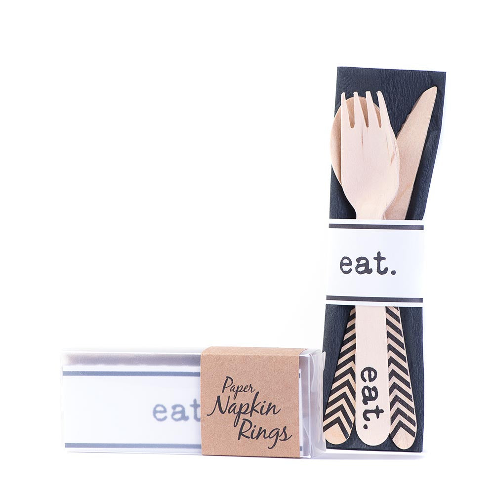 Napkin Rings - eat.