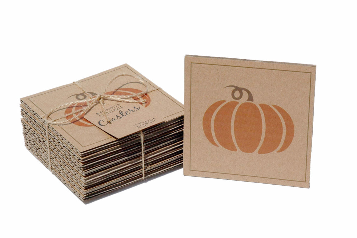 Coasters - Pumpkin