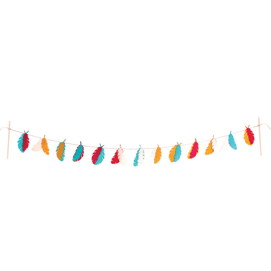 Felt Garland - Feather