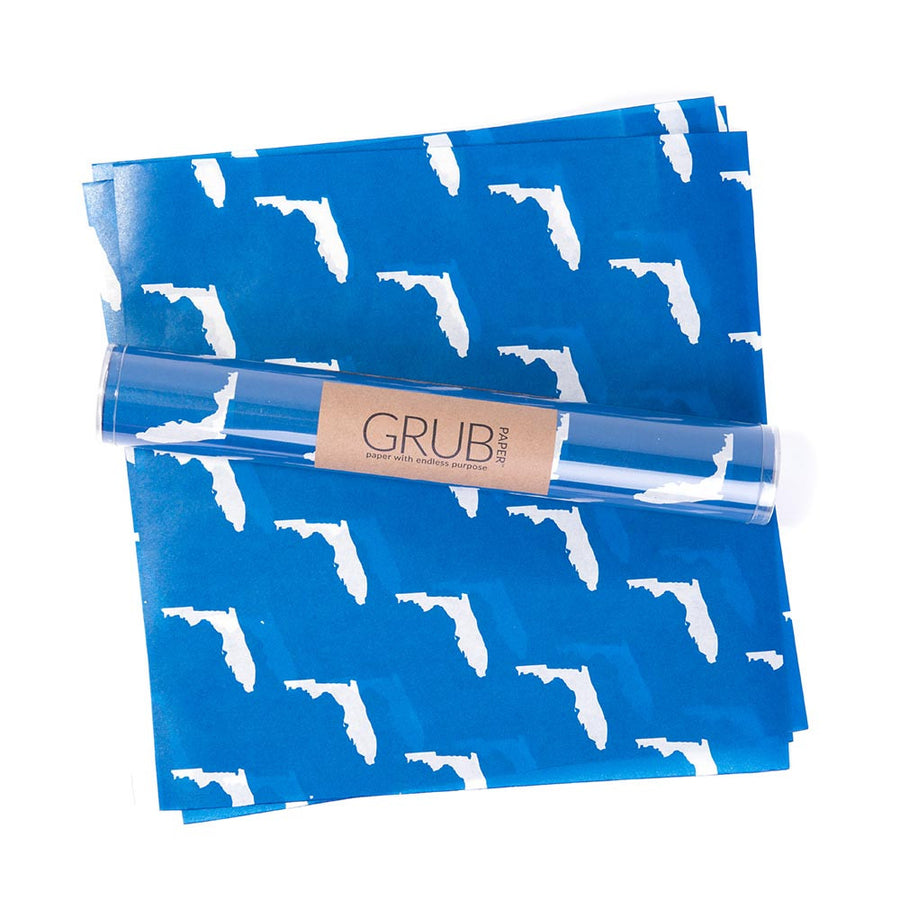 GRUB Paper - Blue Florida