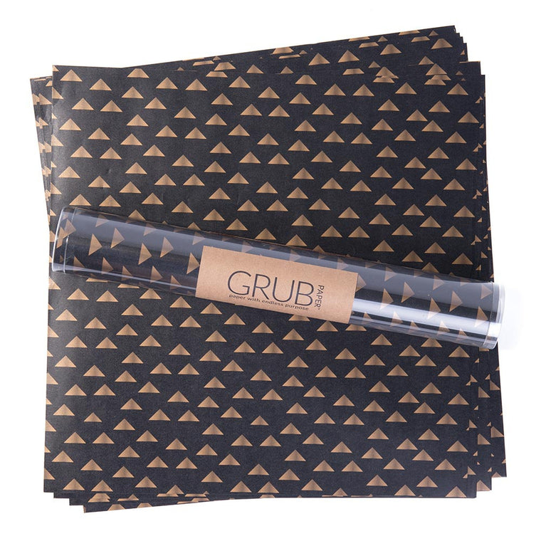 GRUB Paper - Black & Gold