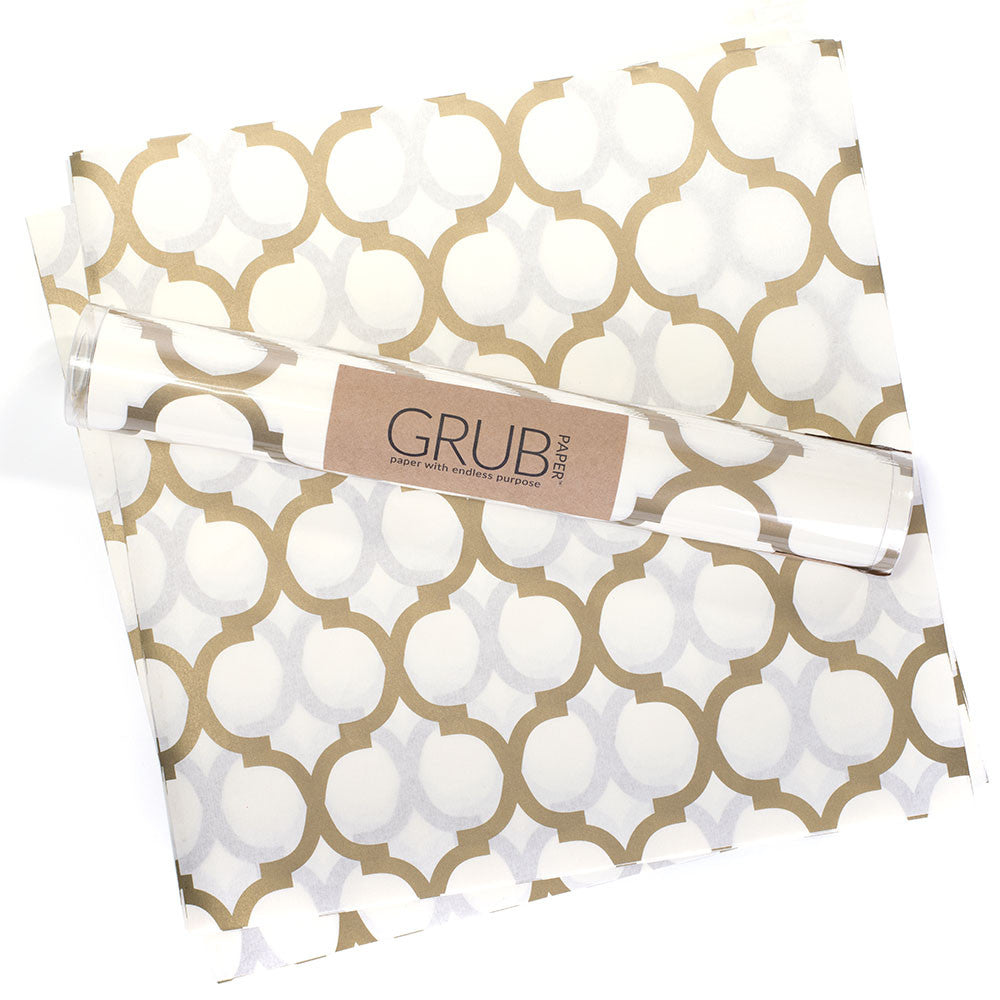 GRUB Paper - Gold Geometric