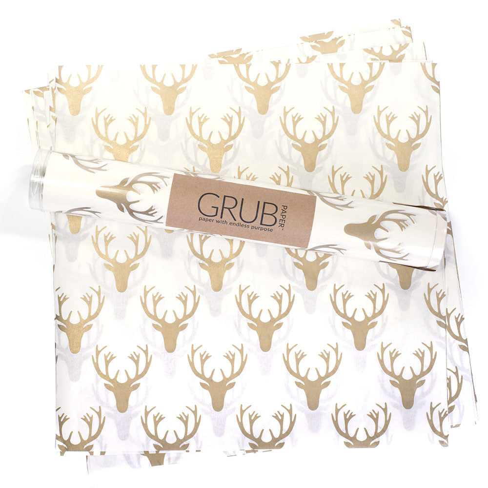 GRUB Paper - Gold Stag