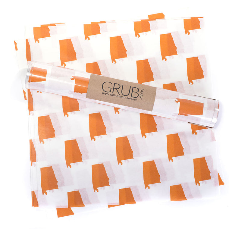 GRUB Paper - Orange Alabama