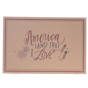 Placemats - America Land that I Love