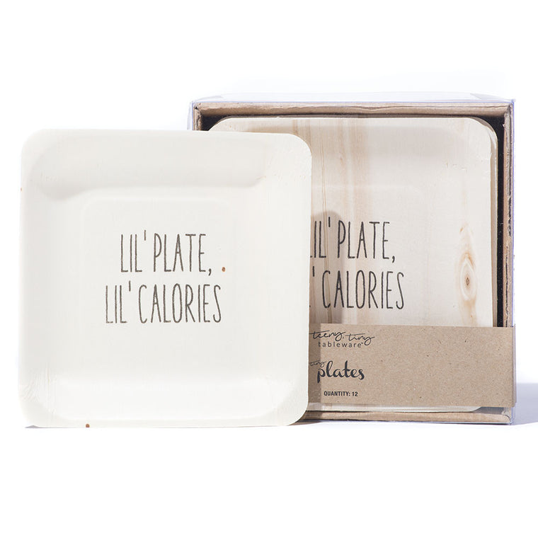 Tiny Plates - Lil' Plate, Lil' Calories