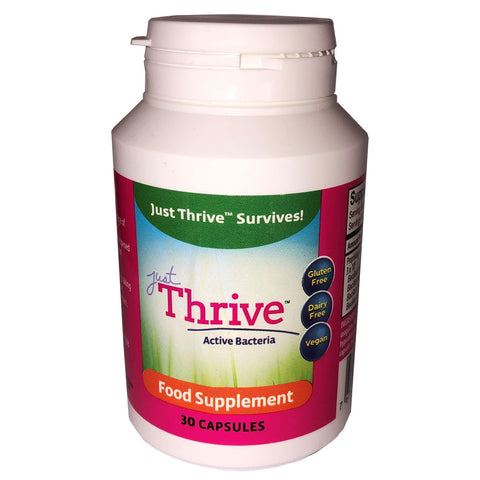 Just Thrive Probiotic 90 Day Supply (3 x 30 Capsules)