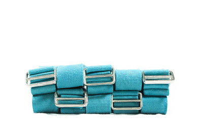 2.4m Cotton Yoga Belt - 10 Pack