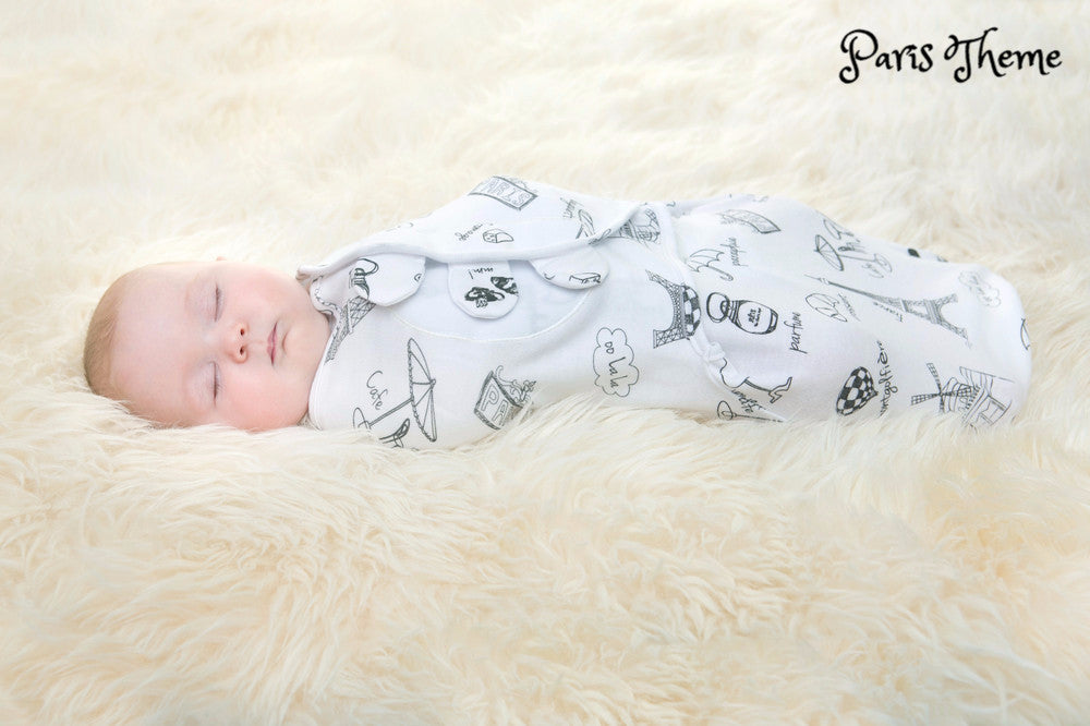 Organic Simple Swaddle - Safely Swaddle Your Baby in Seconds!