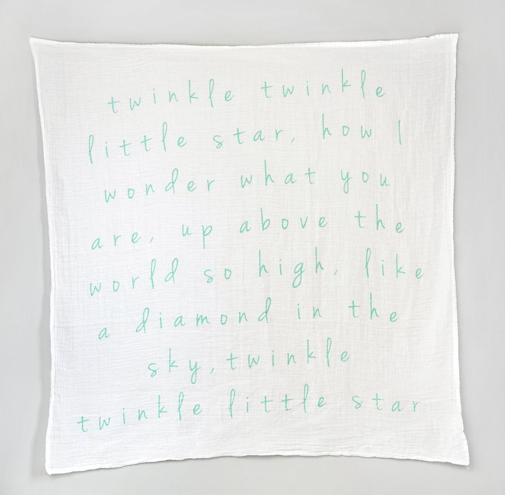 Twinkle Twinkle Little Star Swaddle (Blue Collection)