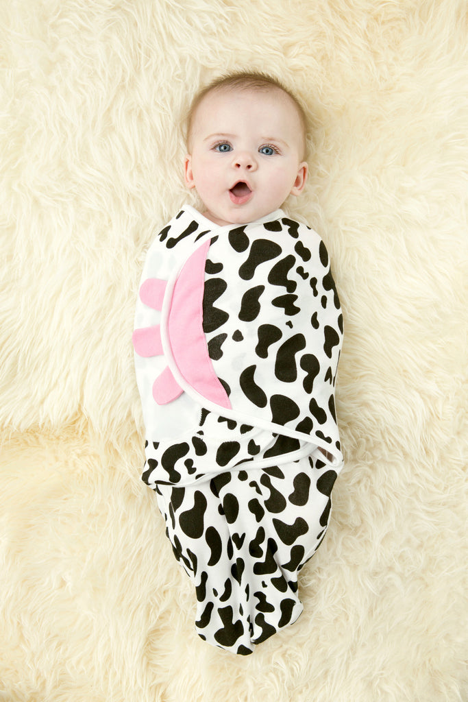 Cow Organic Simple Swaddle