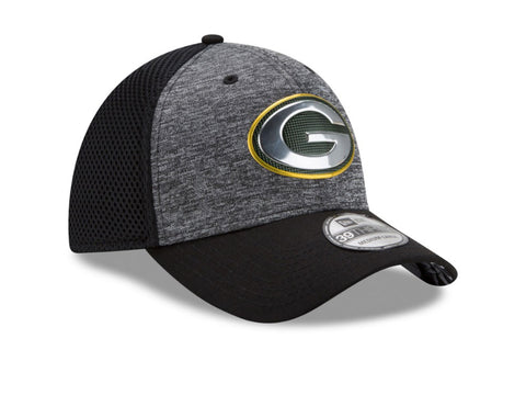new era,2016,green bay packers,39THIRTY,3930,flex fit,hat,headwear,baseball cap,clothing accessories