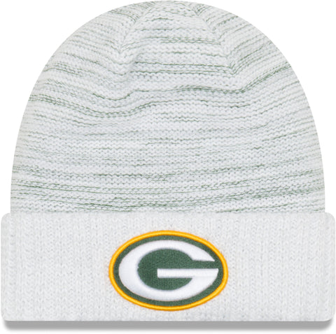 new era,green bay packers,2017,on field,knit hat,beanie,skullie,winter,clothing accessories,headwear