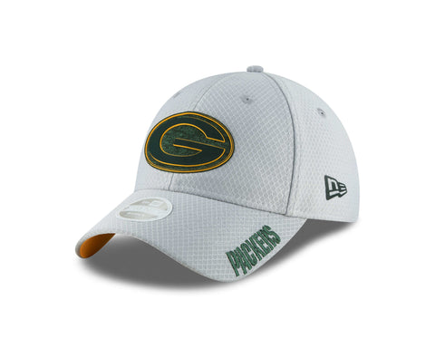 new era,green bay packers,9twenty,920,2018,training,camp,sidelines,adjustable,hat,baseball cap,headwear,clothing accessories