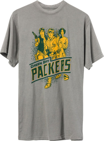 Star Wars x Junk Food x NFL Rebels Team Packers Tee