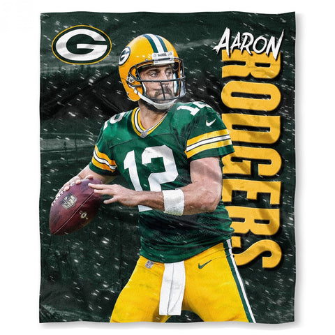 northwest,green bay packers,aaron rodgers,silk,touch,throw,blanket,bedding,home,décor,decoration,plush,nfl,nflpa