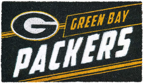 Green Bay Packers Coir Punch Mat