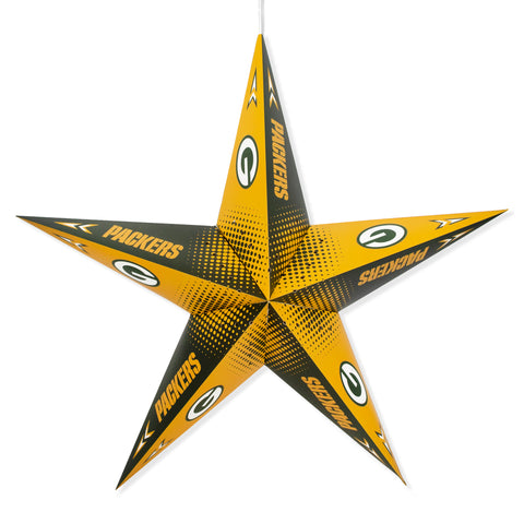Green Bay Packers Hanging Team Star Paper Lantern