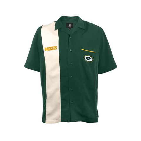 "NFL ""Strike"" Mens Bowling Shirt"