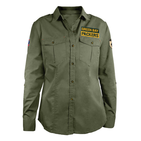 NFL Womens Military Field Shirt