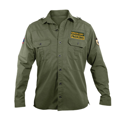 NFL Mens Military Field Shirt
