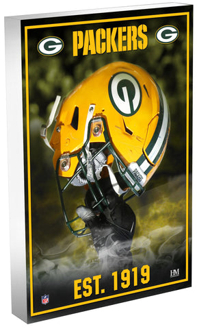 Green Bay Packers Team Pride 3D Acrylic BlocKart
