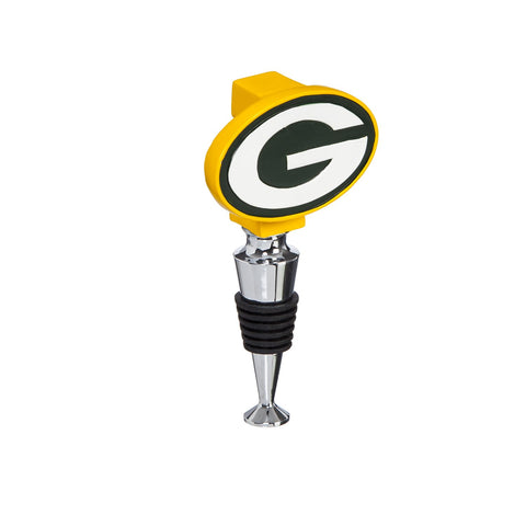 Green Bay Packers Logo Wine Stopper