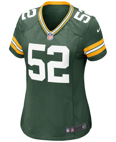 Nike Green Bay Packers Clay Matthews Screenprinted Game Jersey, Green