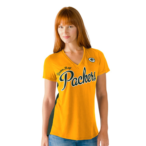 Green Bay Packers Cutback Women's Shirt