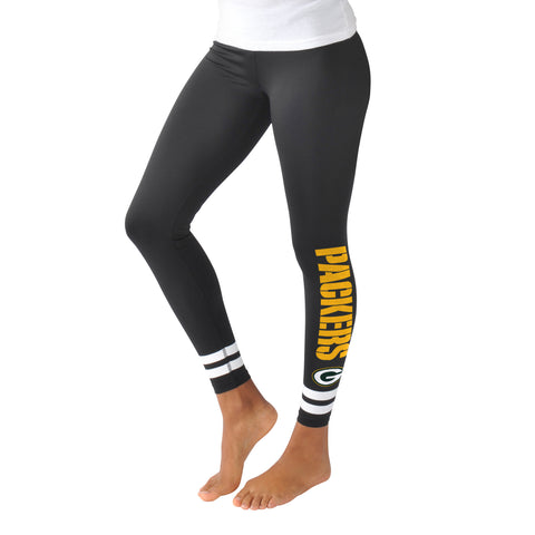 G-iii,g3,green bay packers,velocity,leggings,pants,women's,girls,clothing accessories,bottoms