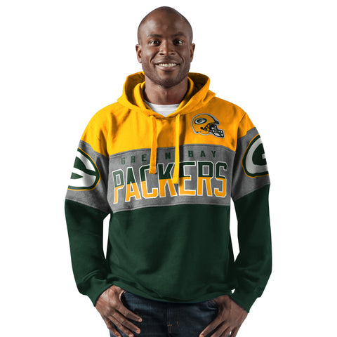 Green Bay Packers Pass Rush Pullover Hoody