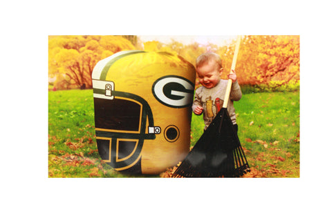 Green Bay Packers Stuff-a-Helmet Leaf Bag