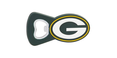 Green Bay Packers PVC Magnet Bottle Opener