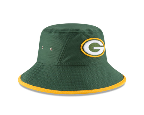 Green Bay Packers Hex Team Bucket Hat