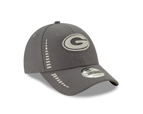 Green Bay Packers 9FORTY Speed Diamond Era Adjustable Cap, Charcoal