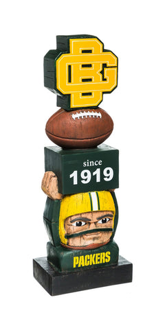 Green Bay Packers Vintage Garden Statue